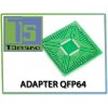 Adapter QFP64 do programatora Orange5 68HC705x16/x32