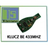 Electronic board for BE key (BGA key type case) 433 Mhz