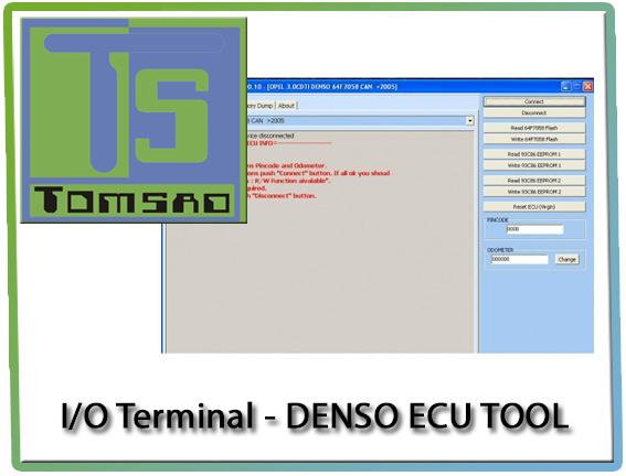 I/O Terminal - Denso Ecu Tool