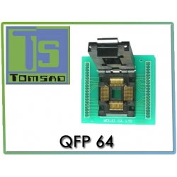 Adapter QFP64 ZIF WL-QFP 64 MC68HC908