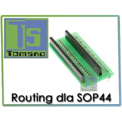 Routing dla SOP44 SOP 44 (Wellon VP280, VP390, VP598)