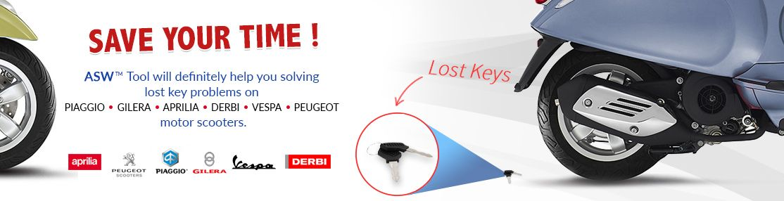 ASW lost key - scooter tool
