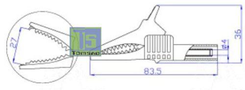 bezpieczny krokodyl catIII
