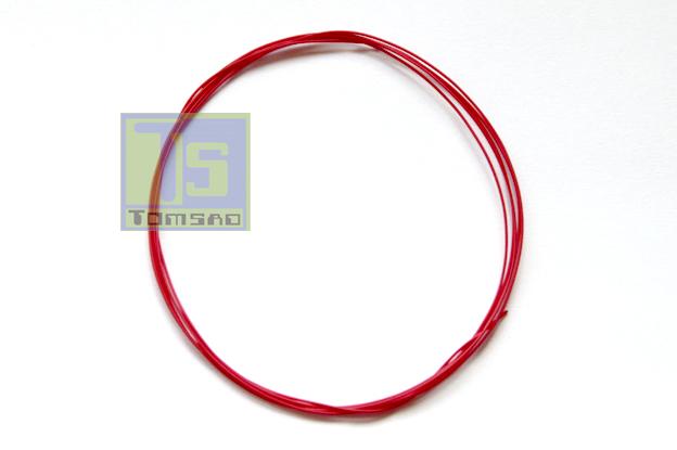 kynar czerwony przewód montażowy