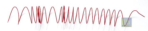 przewód montażowy o kolorze czerwonym