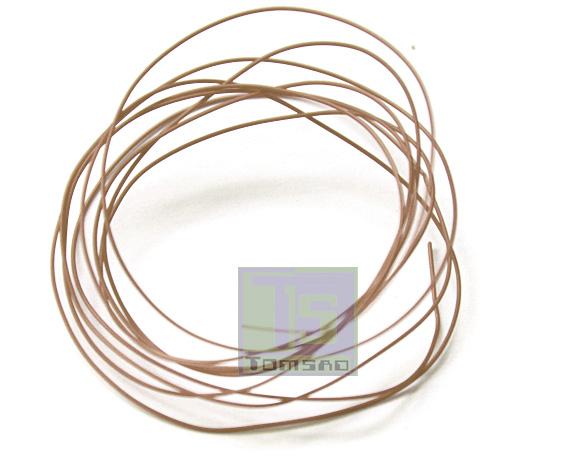 kynar przewod montażowy brązowy