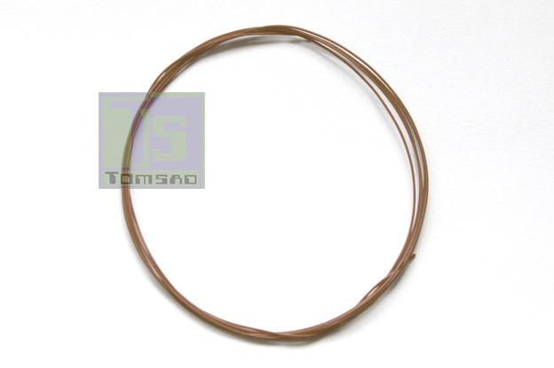 kynar przewód montażowy brązowy