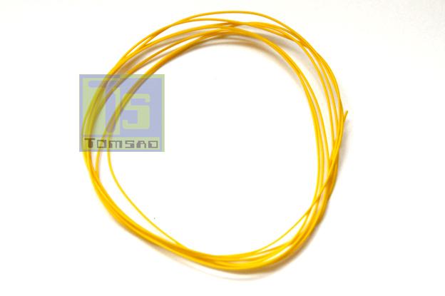 kynar przewod montażowy żółty