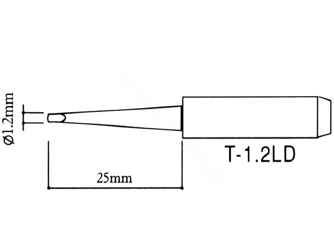 grot T-1.2D lutownice zhaoxin