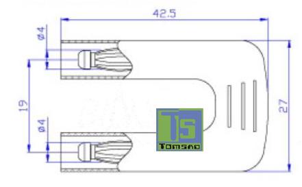 wtyk podwójny 4mm