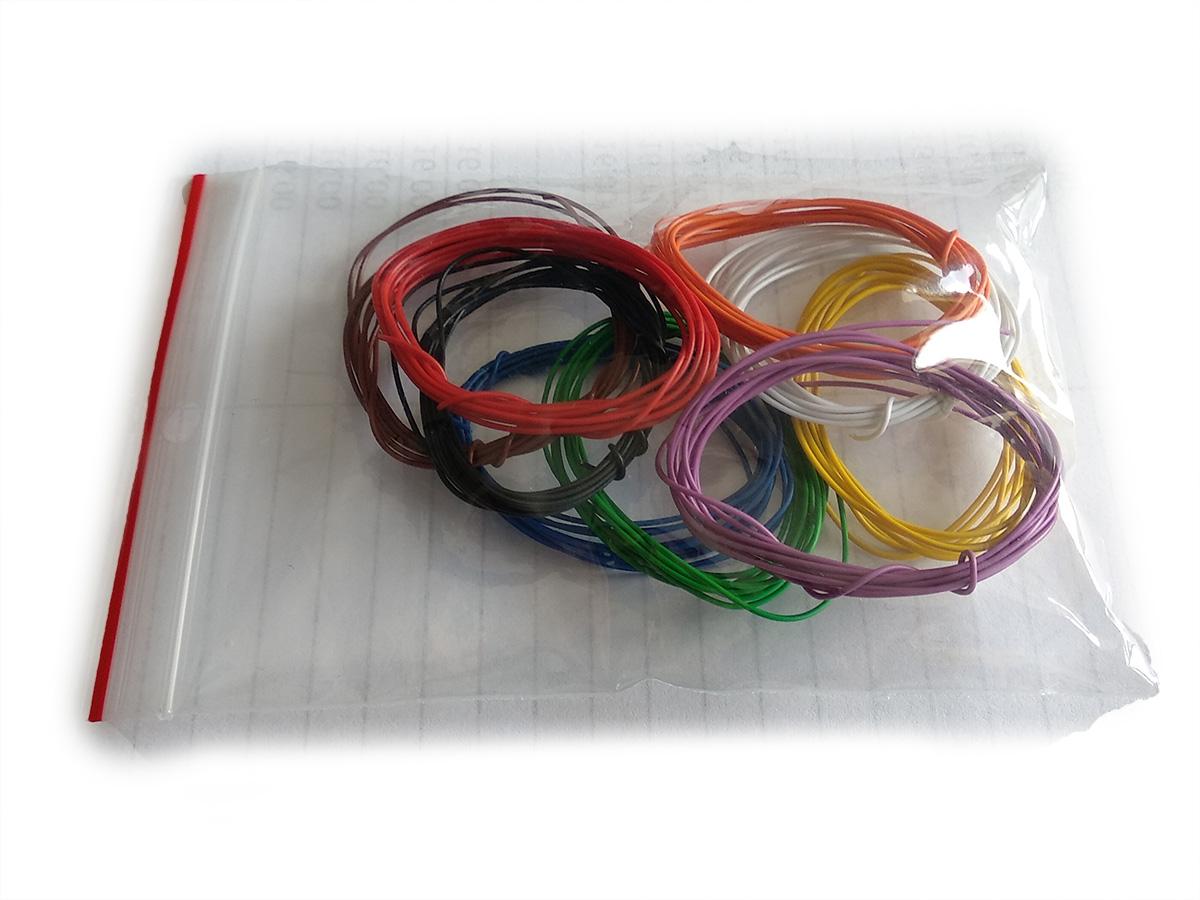 przewody kynar zestaw kabli