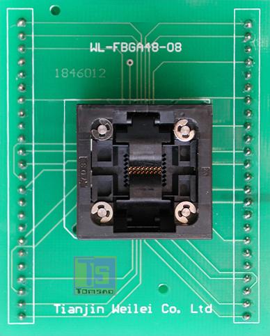 FBGA 48 ZIF Adapter