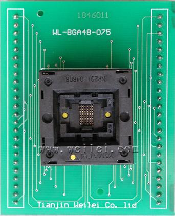 Adapter BGA 48 ZIF