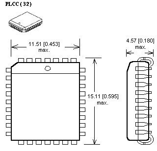 adapter plcc32 ZIF