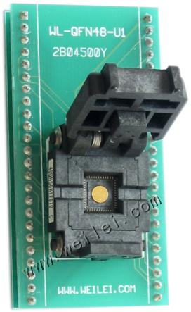 qfn48-podstawka-zif adapter weilei