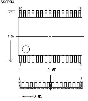 układ w obudowie ssop-34