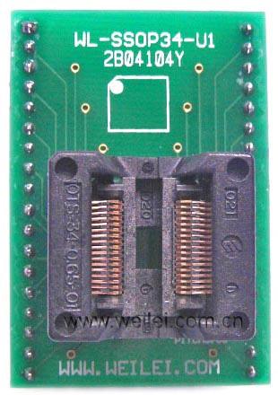 Adapter ssop34 zif