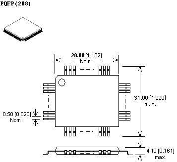 adapter tqfp208