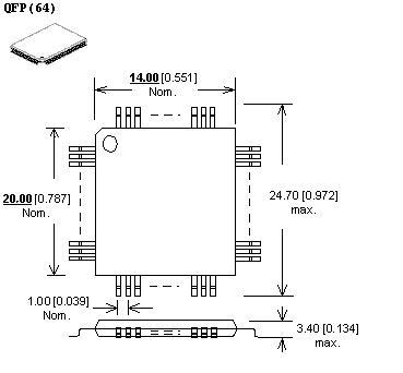 lqfp-64 adapter