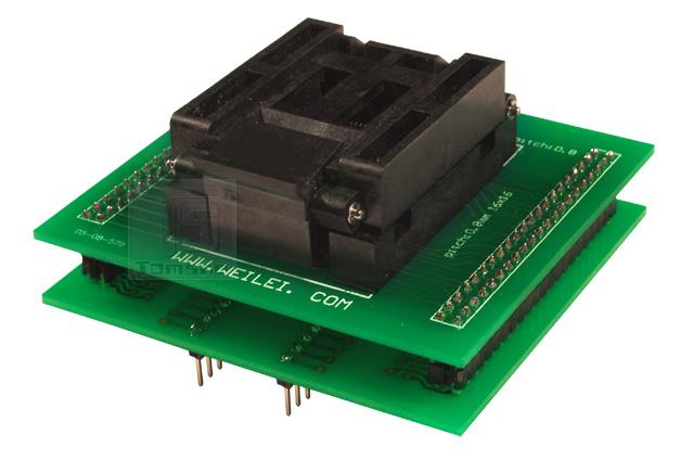 adapter wl-tqfp64 zif atmega