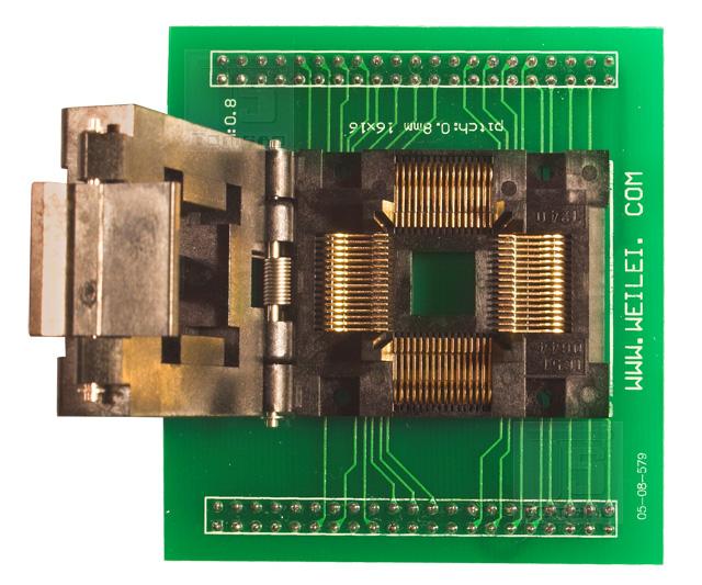 wl-tqfp64 adapter zif