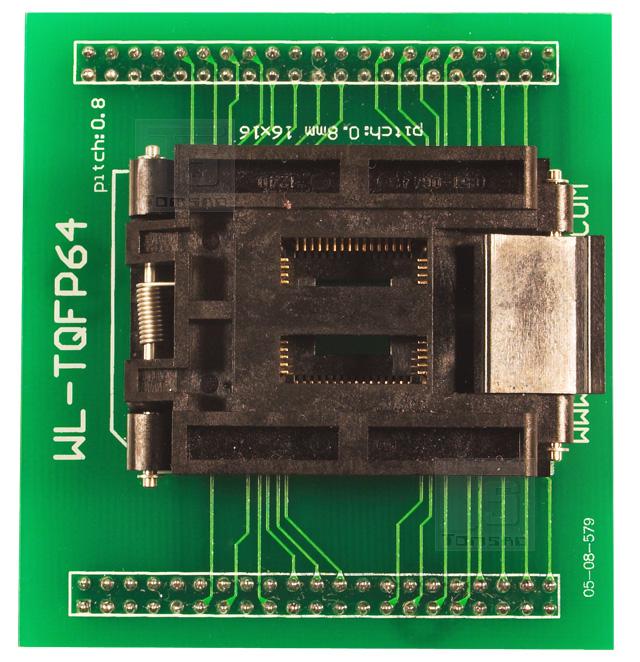 adapter tqfp-64 zif