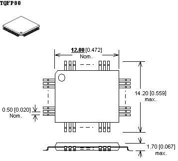 przejściówka wl-tqpf80