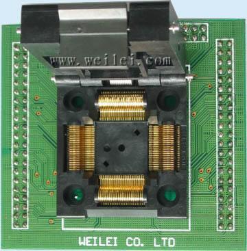 adapter tqfp-80 wellon