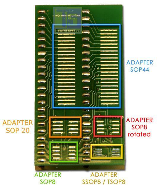 sop44/sop 16 - multiadapter