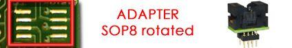 adapter sop8 rotaed