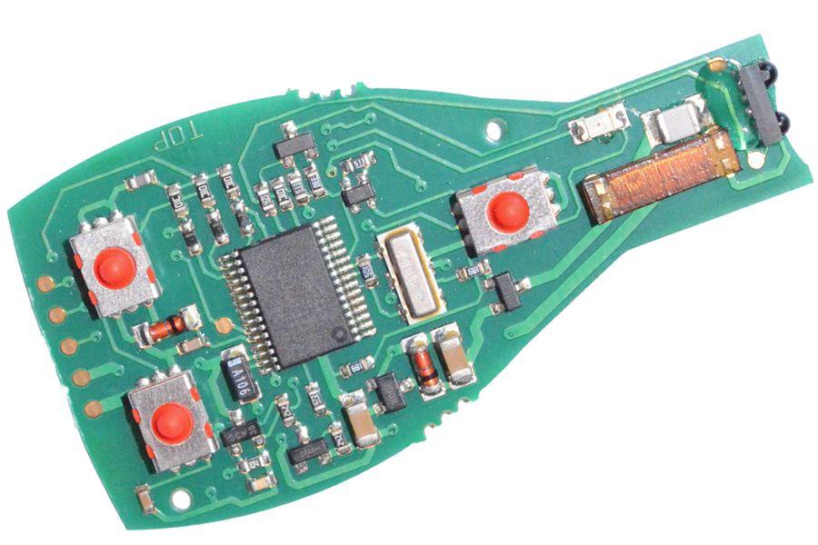klucz mercedes be 315 mhz