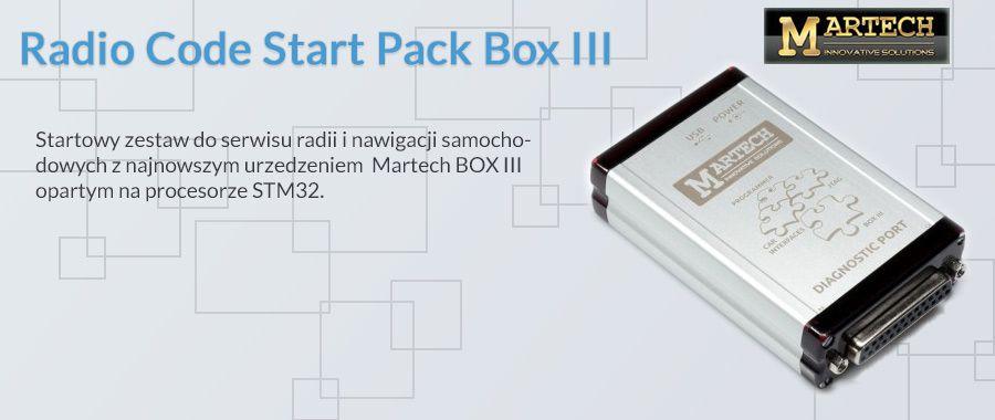 martech radio code start pack