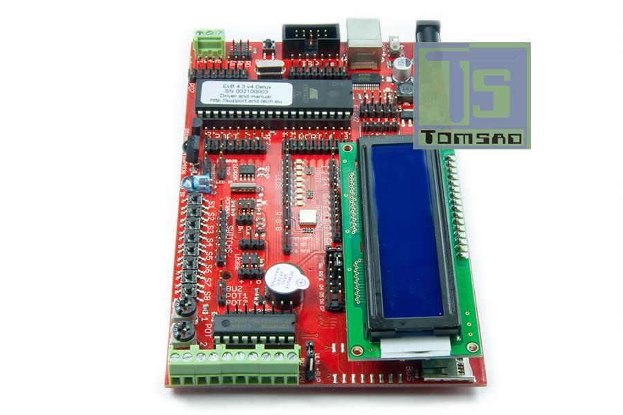 zestaw uruchomieniowy EVB 5.1v5 atmega32