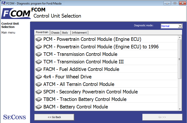 FOCOM oprogramowanie diagnostyczne