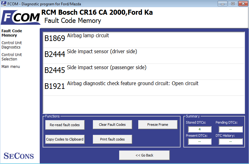 focom ecu diagnostyka