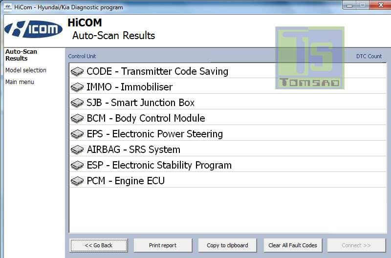 Hicom oprogramowanie diagnostyczne