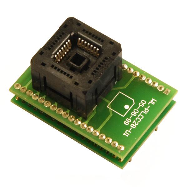 adapter plcc28 zif weilei