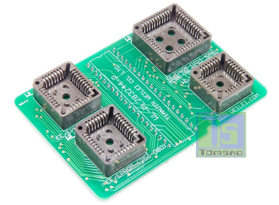 Adapter plcc 28-32-44