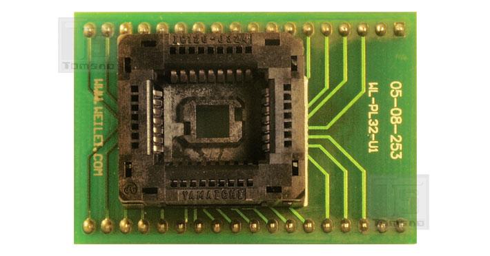 plcc 32-zif adapter weilei