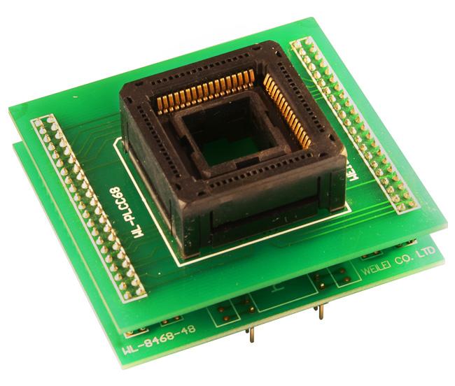 plcc-68 zif adapter weilei