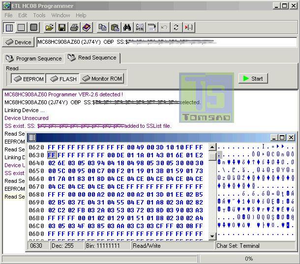 programator HC908