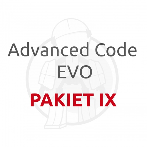 advanced code evo pakiet 9