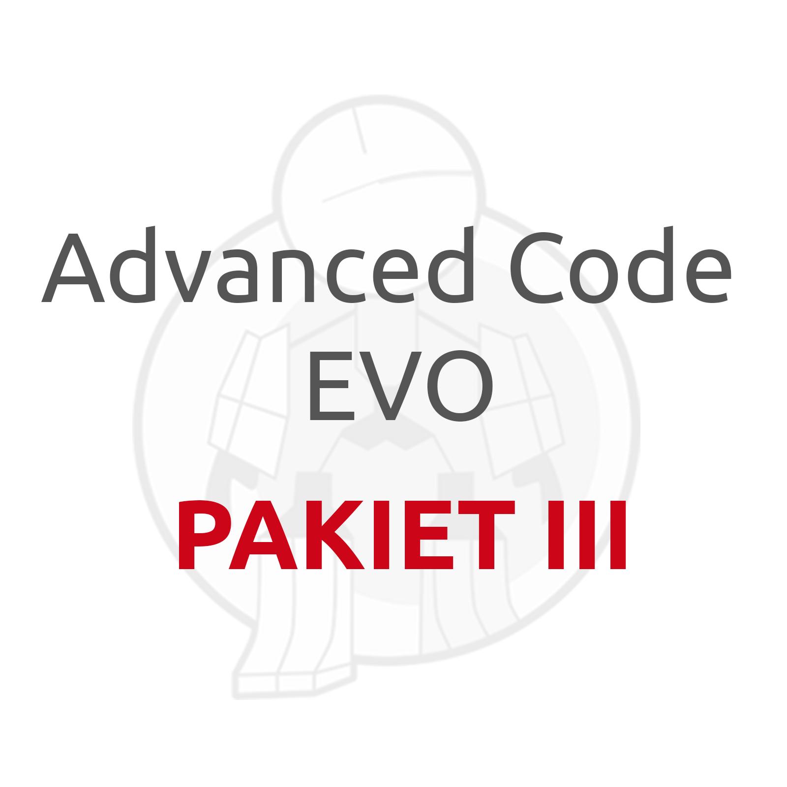 advanced code evo pakiet 3