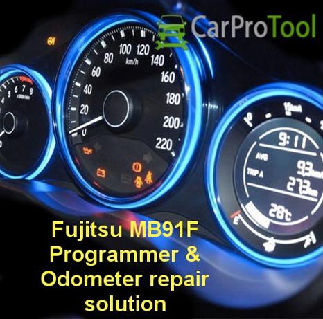 car pro tool Fujitsu MB91f