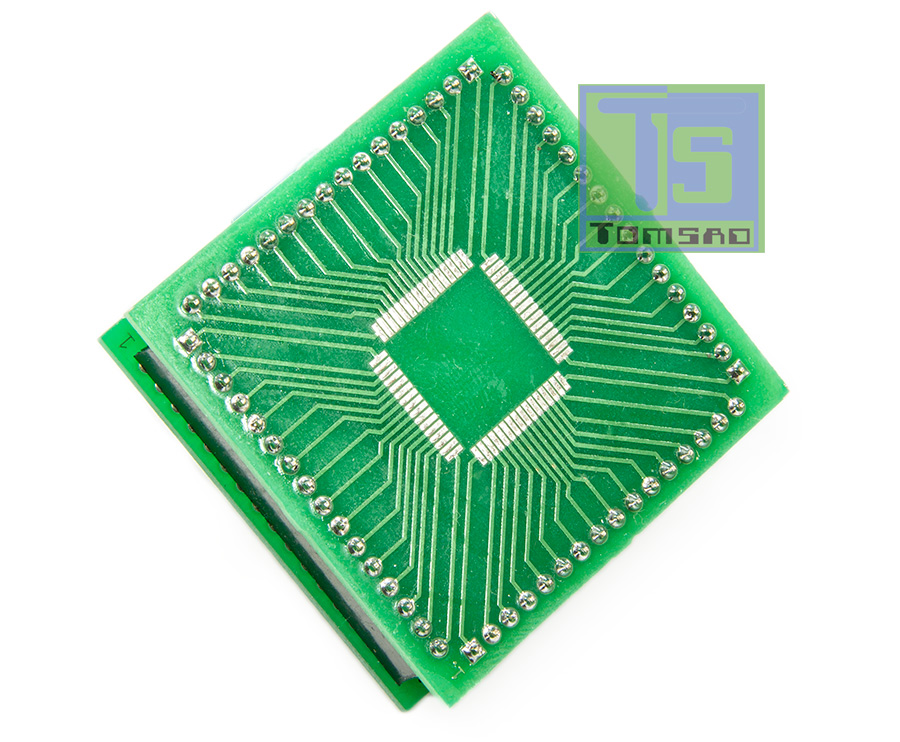 adapter qfp64 mc68hc12