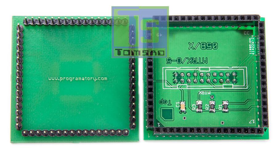 Adapter QFP-64 programator HC705