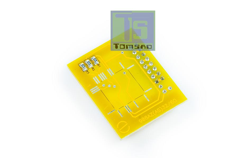 MCU 68HC908AZ32/AZ60/AS60 QFP64