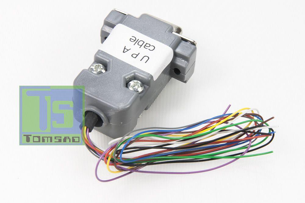 kabel do programowania przy pomocy programatora upa-usb