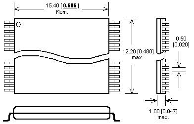 dil48/tsop48 zif adapter