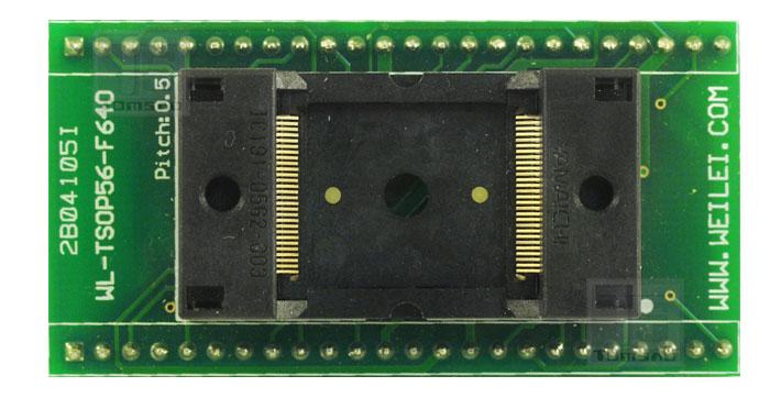 adapter tsop-56 zif weilei